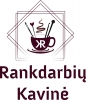 Rankdarbių kavinė, MB logotype