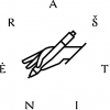Raštinė, UAB logotipas