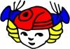 """Kauno vaikų darželis """"Raudonkepuraitė"""" logotipas"""