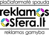 """I.Į. """"REKLAMOS SFERA"""" logotipas"""