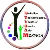Rokiškio technologijos, verslo ir žemės ūkio mokykla logotipas
