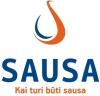 Sausa, UAB logotipas