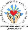 """Savanorių asociacija """"Spindulys"""" logotipas"""