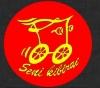 "Senovinių automobilių asociacija SAA ""Seni kibirai"" logotipas"