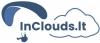 "Skraidymo asociacija ""InClouds"" logotipas"