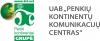 """UAB """"Penkių kontinentų komunikacijų centras"""" logotype"""