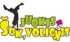Šok, juokis ir voliokis, UAB logotipas
