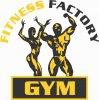 """Sporto klubas """"Fitness Factory Gym"""" logotyp"""