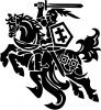"""Sporto klubas """"Vytis"""" logotipas"""