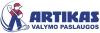 """MB """"Valymo paslaugos """"Artikas"""" logotipas"""