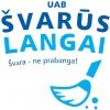 Švarūs langai, UAB logotipas