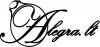 T. Aleksonio Individuali veikla logotipas