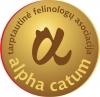 """Tarptautinė felinologų asociacija """"Alpha Catum"""" логотип"""