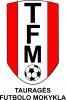 Tauragės futbolo mokykla logotype