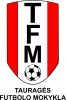 Tauragės futbolo mokykla logotipas