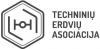Techninių erdvių asociacija logotype