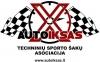 """Techninių sporto šakų asociacija """"Autoiksas"""" logotipas"""