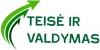Teisė ir valdymas, VšĮ logotipas