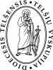 Telšių Vyskupijos Kurija logotype