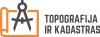 Topografija ir kadastras, UAB логотип