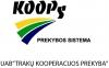 """UAB """"TRAKŲ KOOPERACIJOS PREKYBA"""" logotyp"""