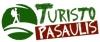 Turisto pasaulis, UAB 标志