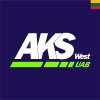 "UAB ""Aks West"" logotype"