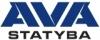 """UAB """"AVA statyba"""" logotype"""
