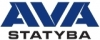 "UAB ""AVA statyba"" логотип"