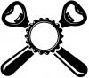 Alkoponė, UAB logotipas