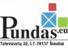 Pundas, UAB logotipas