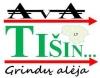 """UAB """"Tišin"""" logotipas"""
