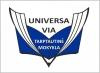 """Viešoji įstaiga Klaipėdos """"Universa Via"""" tarptautinė mokykla logotipas"""