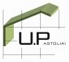 Universalūs pastoliai, UAB logotype
