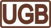 UGB, UAB logotipas