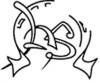 """Utenos visuomeninių jaunimo organizacijų sąjunga """"Apskritasis stalas"""" logotipas"""