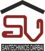 V. Staugaičio santechninių darbų įmonė logotipas