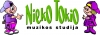 "Muzikos studija ""Nieko tokio"" logotipas"