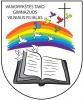 """Viešosios įstaigos """"Vaivorykštės tako"""" gimnazijos Vilniaus filialas logotipas"""