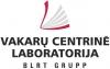 """UAB """"Vakarų centrinė laboratorija"""" логотип"""