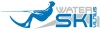 "Vandens slidinėjimo sporto klubas ""Skriejantieji bangomis"" logotipas"