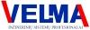 Velma, UAB logotipas