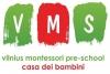 """Viešoji Įstaiga """"Vilniaus Montessori"""" logotipas"""