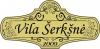 Vila Šerkšnė logotyp