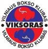 """VILNIAUS BOKSO KLUBAS """"VIKSORAS"""" logotipas"""