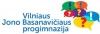 Vilniaus Jono Basanavičiaus progimnazija logotipas
