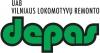 Vilniaus lokomotyvų remonto depas, UAB логотип