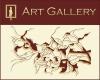 Visagino meno galerija logotipas