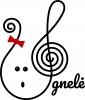 """Muzikos mokykla """"Ugnelė"""", VšĮ logotipas"""