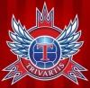"""VŠĮ Futbolo Klubas """"Trivartis"""" логотип"""